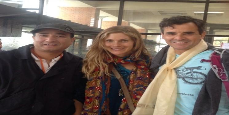 American Actress Marlies Pintoo and Mr Fabio Texerra USA