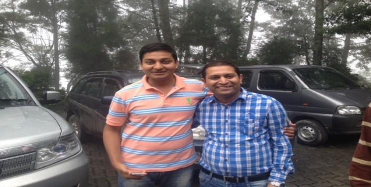 Mr Amit Kumar Garg and Franklyn Johnson Austin India