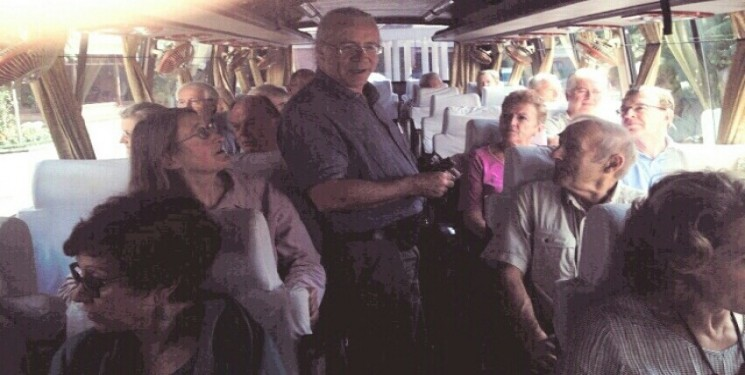 Team Leader Mr C Rambles on behalf of Oxford and Cambridge University group of 20 Person UK - Nepal,Sikkim and Bhutan tour Oct 2014