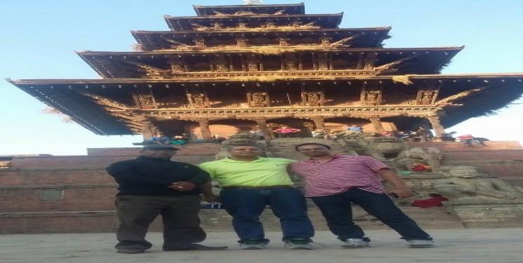 Dr Murthy radhakrishna & Dr Anil P USA Nepal visit Nov 2016