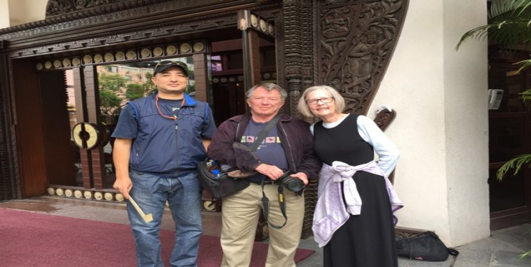 Mr J Ward & Mrs S Ward USA Nepal Bhutan Tour May/June 2016