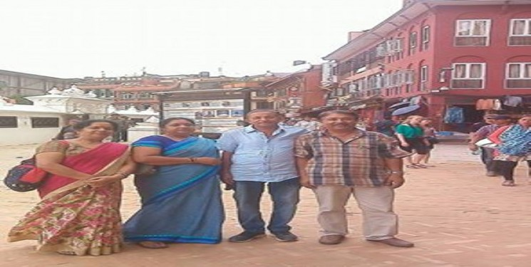 Ravinder Kumar & family August 2016 India