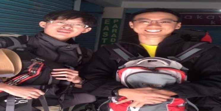 Mr Ng Teng Jie and Mr Chua Wei Hang Malaysia
