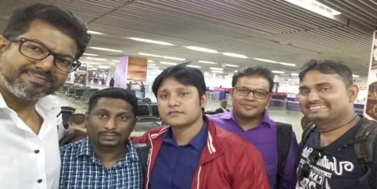 Mr Indeewa Jayamal Party Nepal visit Feb 2018