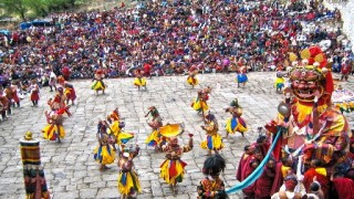 Paro Bhutan Tshechu Festival Tour 7 Nights 8 Days - Festival date 11th to 15th April, 2015
