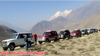 Upper Mustang Adventure 4WD Jeep Safari Tour  14 Days