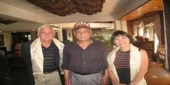 Mr Philip Resee and Ms Hong Van Lou