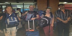 Mr J M Johnson and Family Upper Mustang Trekking
