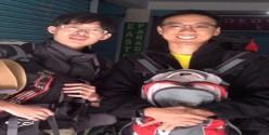 Mr Ng Teng Jie and Mr Chua Wei Hang Malaysia